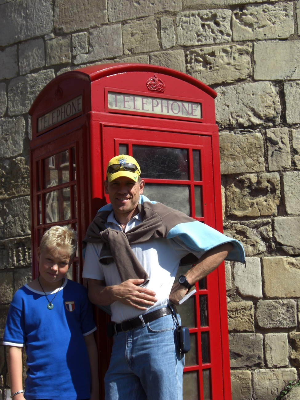 Vater und Sohn in York